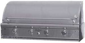 PROFIRE PROFESSIONAL SERIES 48 INCH BUILT IN  INFRARED HYBRID GAS GRILL  PF48GIH - Without Rotisserie and Rear Burner