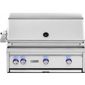 """Lynx Professional 36"""" Built-In All Trident Sear Burner Grill with Flametrak and  Rotisserie -  LF36ATR  NEW 2018 MODEL"""