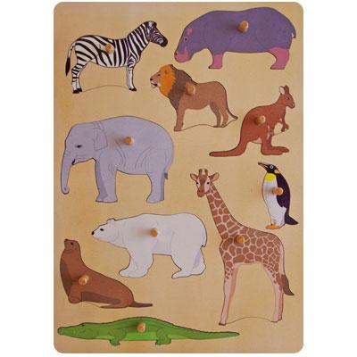 wild animals puzzle wild animals puzzle 10 pieces 1108 $ 20 43 out of