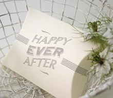 Pillow Box small - Happy Ever After
