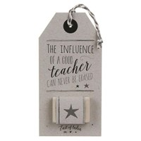 Rubber - Influence of a Teacher