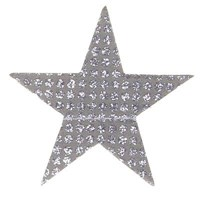 Paper Garland - Silver Stars