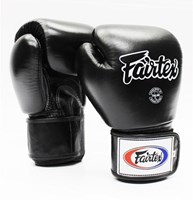 Fairtex BGV1 Tight Fit Glove BLACK