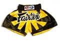 Fairtex Muay Thai Kickboxing Shorts Bumble Bee