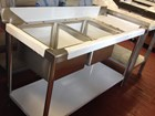 Sink 1.5m double bowl RIGHT DRAINER