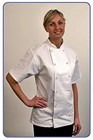 Chef Jacket Short sleeved White J19