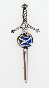 Kilt Pin - Clan Crested