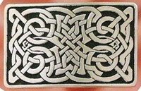 BU72 - Celtic Knot Belt Buckle