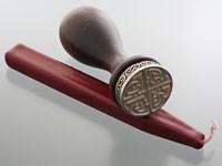 Pewter Celtic Wax Seal