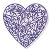 Couture Creations Floral Lace Die - Touch Of Love (80 X 80mm | 3.15 X 3.15in) FREE SHIPPING