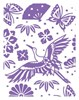 COUTURE CREATIONS Embossing Folder A2 Harmony Collection - Bird of Paradise FREE SHIPPING