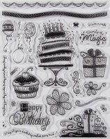 Magical Birthday Clear Stamps Great for Scrapbooking & Cardmaking