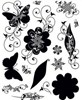 Silhouettes & Shadows Clear Stamps Great for Scrapbooking & Cardmaking FREE SHIPPING