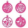 Craft Concept Dies - Swirls & Birds Bauble Tags FREE SHIPPING