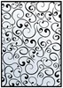 Hobby Solution Embossing Folder mpress Retro Swirls 10.6cm x 15cm FREE SHIPPING