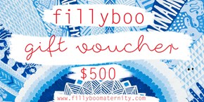 Fillyboo Gift Certificate ($500)