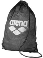 ARENA Mesh Swim Equipment Bag Black