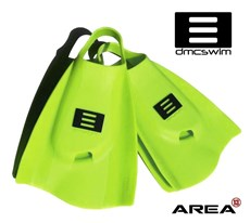 DMC Swim Fins Fluro Green