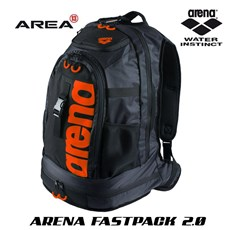 ARENA FASTPACK 2.0 SWIMMING BACKPACK - ORANGE