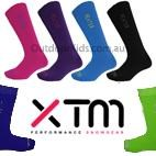 XTM Kids Heater Merino Blend Thermal Ski Socks (Twin Pack/2 pair)  SIZE 13-3