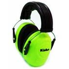 *FREE STORAGE TOTE** Tasco KidSafe Hearing Protection Ear Muffs for Babies & Kids - Neon Green (NRR 25dB)