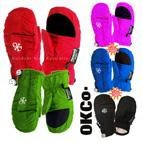 OKco Tots / Small Kids Snow Mitts (6mths - 5yrs)