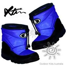 XTM Puddles Kids Winter Snow Boots (Royal Blue) *CLEARANCE*