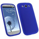 Samsung Galaxy S3 SIII i9300 Blue Flexi Sheild Protective Carrying Skin Case Silicone