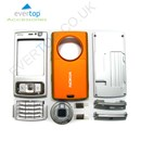 Nokia N95 Mobile Phone Fascia / Cover / Full Housing Set with FREE keypad - Orange