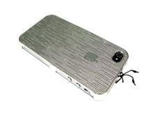 iPhone 4S & iPhone 4 Hard Back Case / Deluxe Edition - Grey