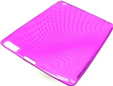 Apple iPAD 2 Protective TPU Skin Case / Premium Quality / Purple