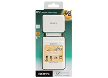 Sony USB Portable Battery Charger Power Pack with EU Power Cord / 4000mAh / CP-A2L