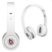 Beats by Dr.Dre SOLO Headphones From Monster White Colour with Control Talk