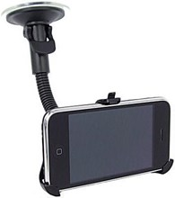iPhone 4S Car Holder With Goose Neck Mount Also Fit iPhone 4