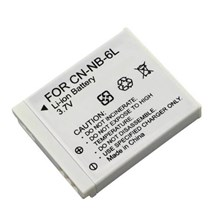 NB-6L Battery for Canon SD770 IS, SD1200 IS, IXUS 95 IS, IXUS 85 IS Camera