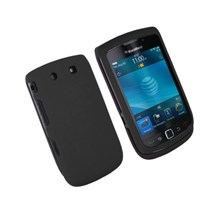 BlackBerry 9800 Torch Silicone Skin Case in Black Colour