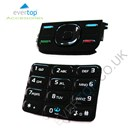 Original Nokia 5300 Xpress Music Replacement Keypad Buttons Set - Black