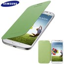 Genuine Samsung Galaxy S4 i9500 Flip Cover Case in Green EF-FI950BGEGWW