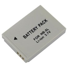 NB-5L Battery for Canon SD870 IS SD950 IS IXUS 90 IS IXUS 970 IS Camera