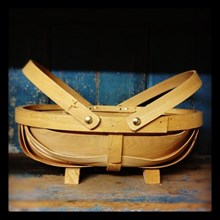 Traditional English Trug - Budding Gardener Kids trug