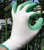Bamboo Gardening Gloves - 2 pairs for $25