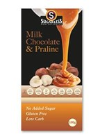Sugarless Co Praline Chocolate 100g