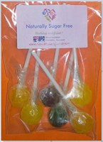 Sweet Switch Sugar Free Lollipops pack of 6
