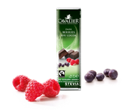 Cavalier Dark Chocolate Berries 40g