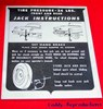 1956 Cadillac Jack Instructions