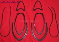 1954 - 1956 Cadillac Taillight Lens Gasket - Set of 6