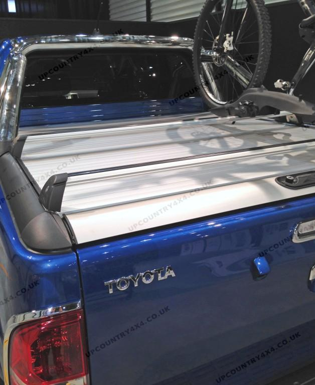 mountain top roll cross bars toyota hilux double cab up. Black Bedroom Furniture Sets. Home Design Ideas