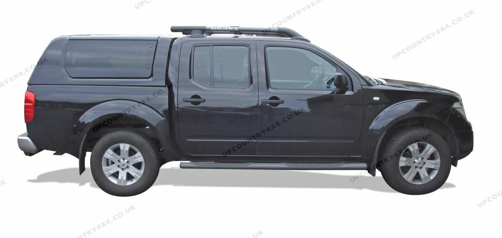 road ranger rh2 glazed remote hardtop nissan navara d40. Black Bedroom Furniture Sets. Home Design Ideas