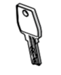 Mountain Top Roll Spare Part: Spare Key M04h