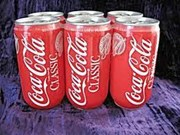 COCA-COLA 12 OZ CANS 6PK
